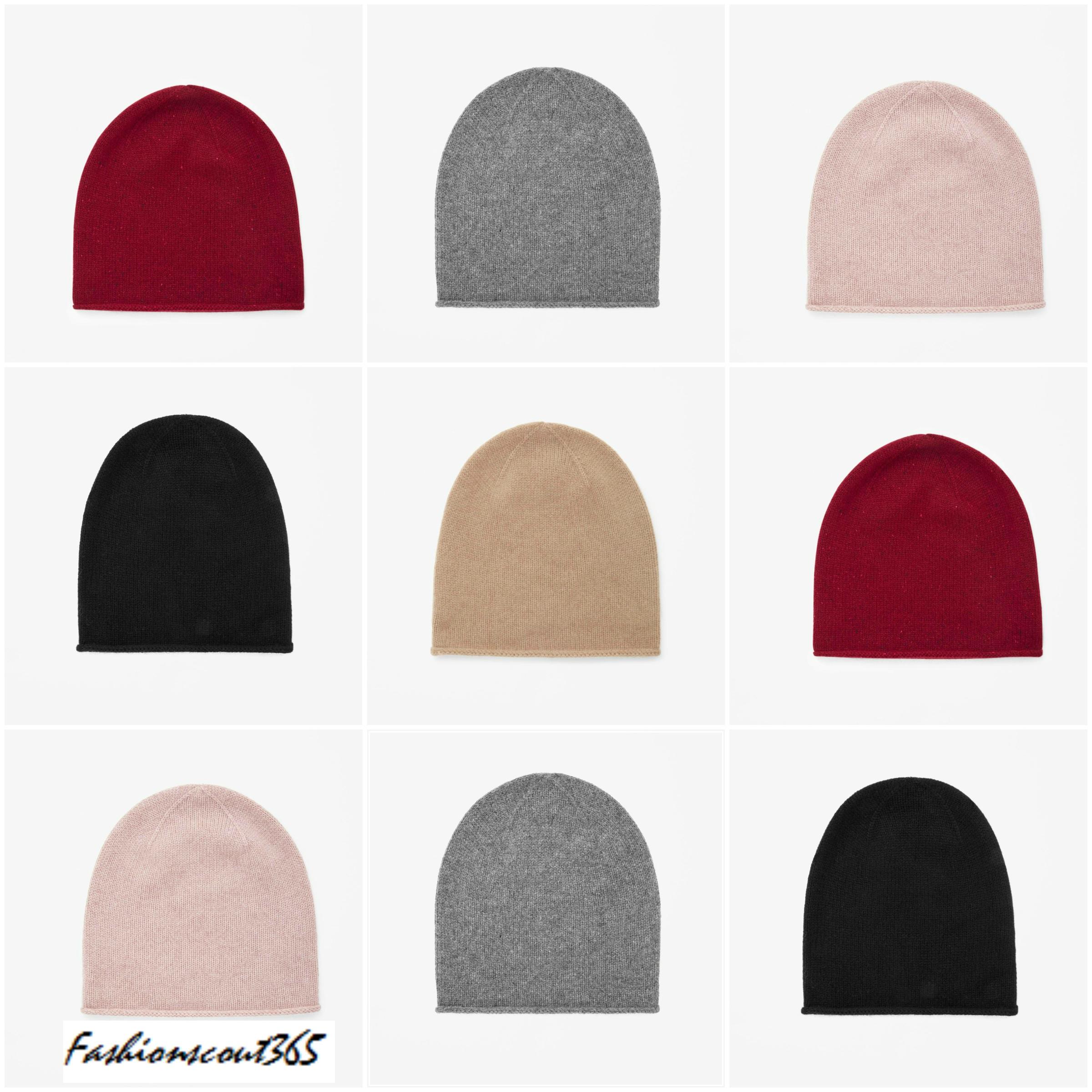 collage_kaschmir-muetze_cos_weinrot-dunkelgruen_winter-basics_garderobe_fashionscout365_2