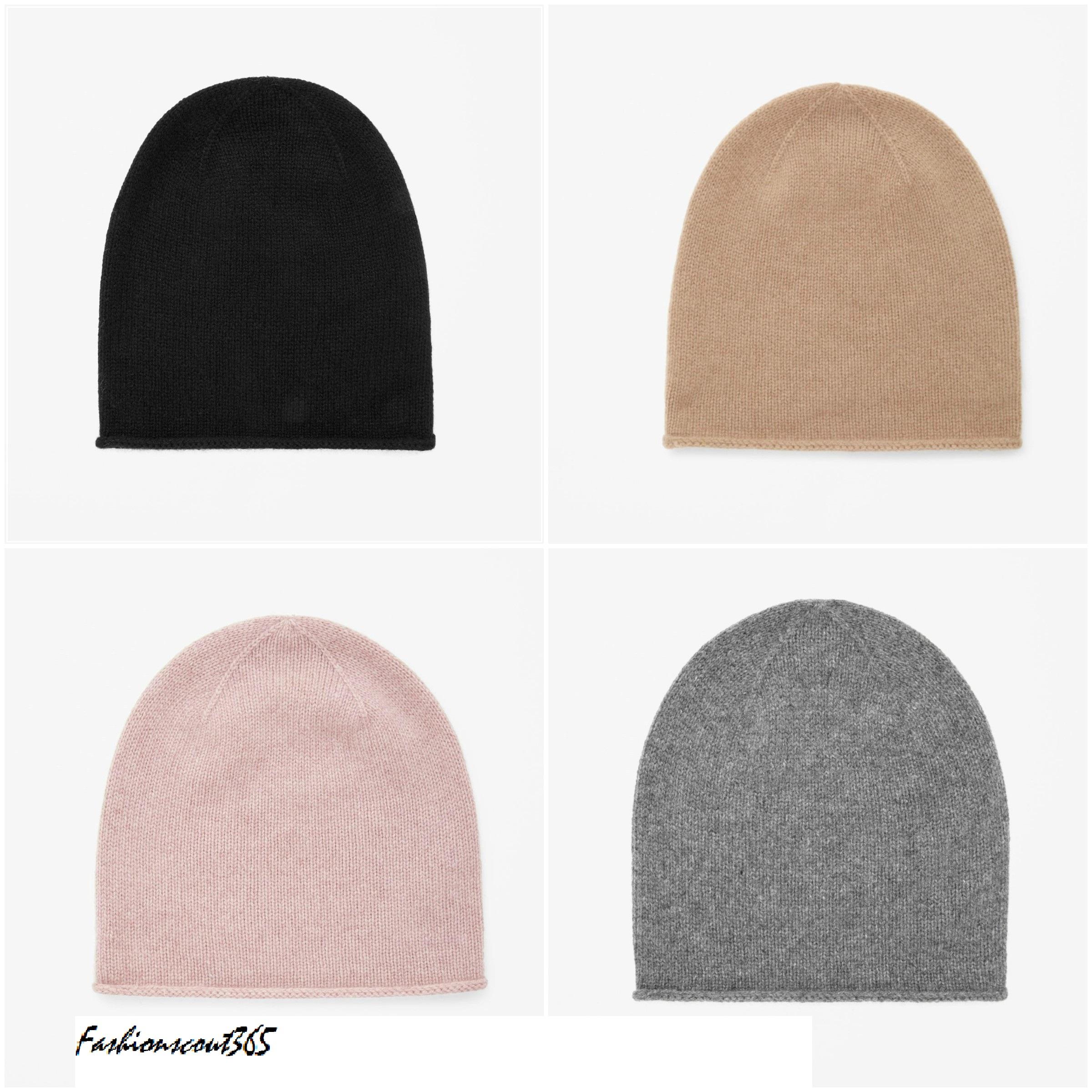 Mütze aus Kaschmir, in unterschiedlichen Farben erhältlich, COS, 39 Euro.