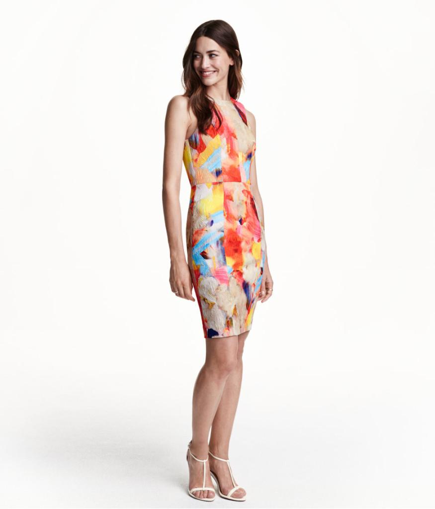 Sommerkleid mit Print, H&M, 20 Euro (reduziert), das Kleid haben wir anprobiert, es sieht toll aus und hat eine gute Länge. Ist aber klein geschnitten, also eine Größe größer nehmen.