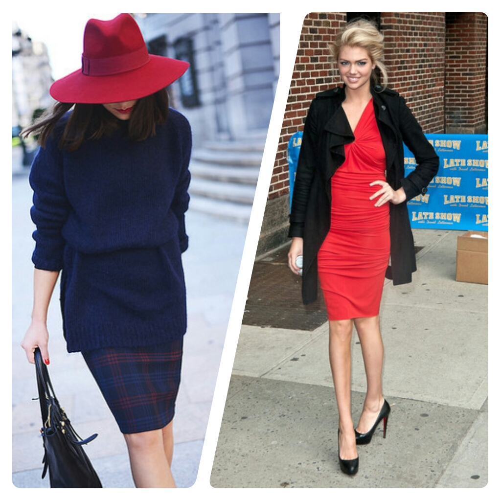 look_kate-upton_red-dress_look_red-hat_fashionscout365