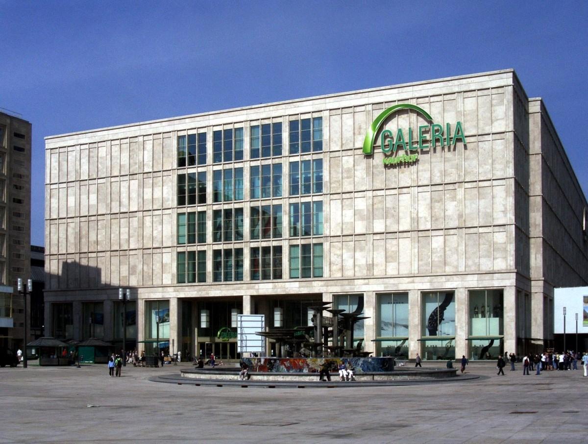 Galeria Kaufhof in Berlin. Photo credit: www.wikipedia.de