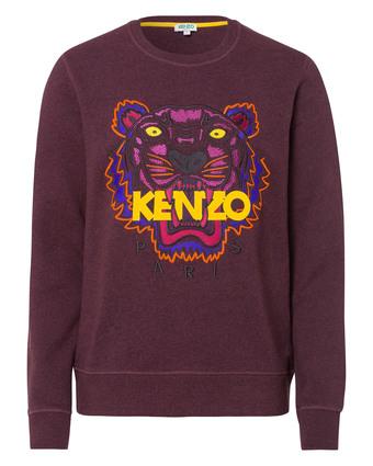 Sweatshirt mit Tiger-Print aus der FW-2015 Kollektion von Kenzo, via www.kadewe.de