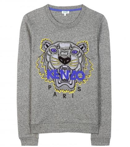 Sweatshirt mit Tiger-Print aus der FW-2015 Kollektion von Kenzo, www.mytheresa.com, 165 Euro.