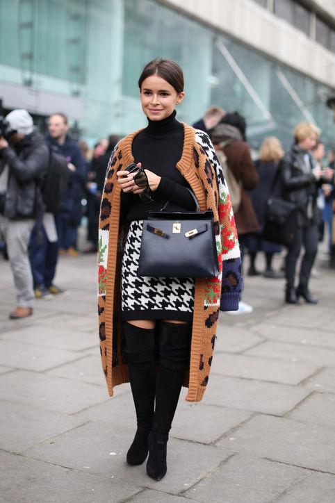Miroslava Duma (russische Fashionista). Quelle: www.whowhatwear.com