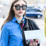 Streetstyle-Stars der Mercedes-Benz Fashion Week Russia (Teil 2)