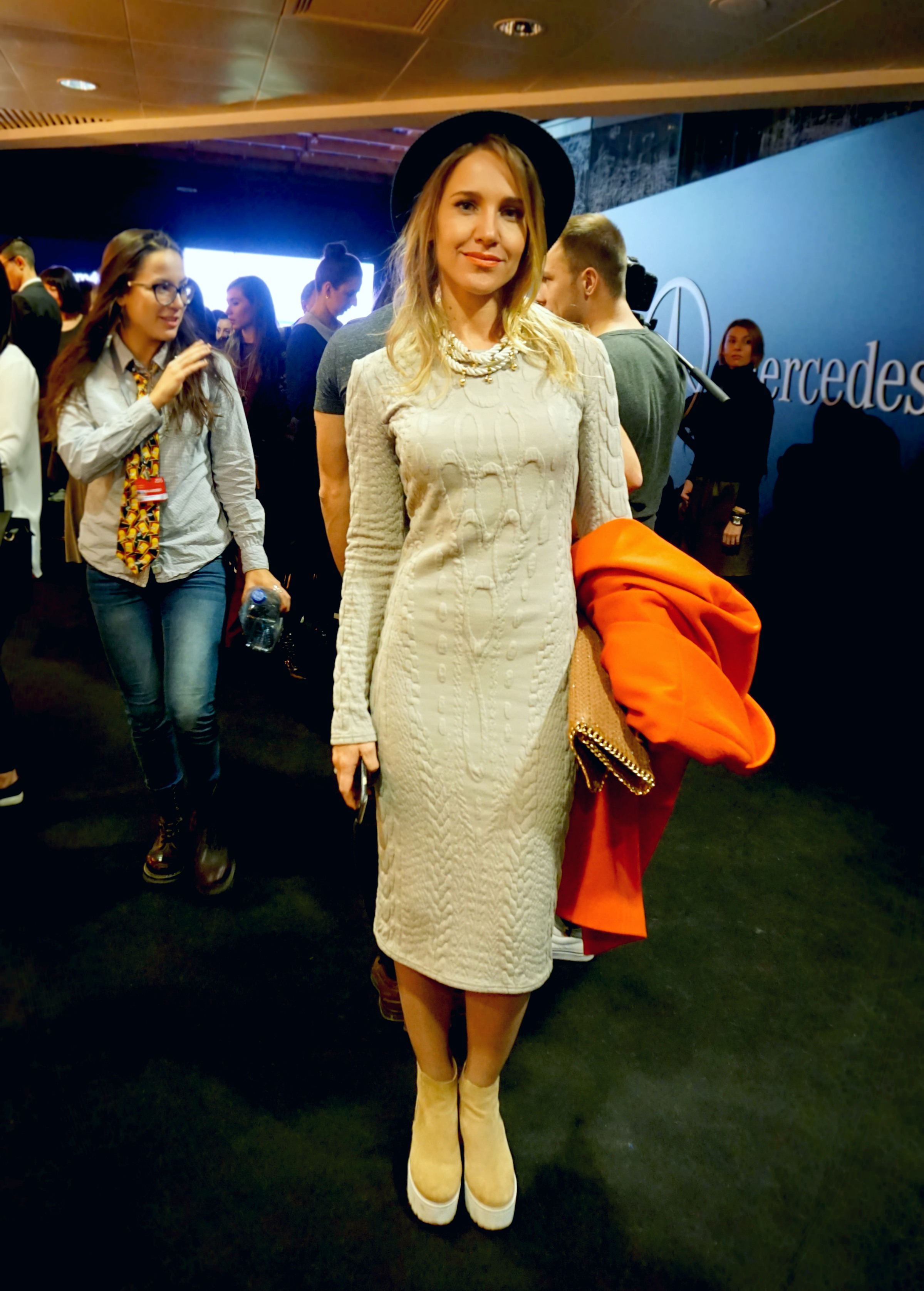 Streetstyle stars der mercedes benz fashion week russia for Garderobe yulia