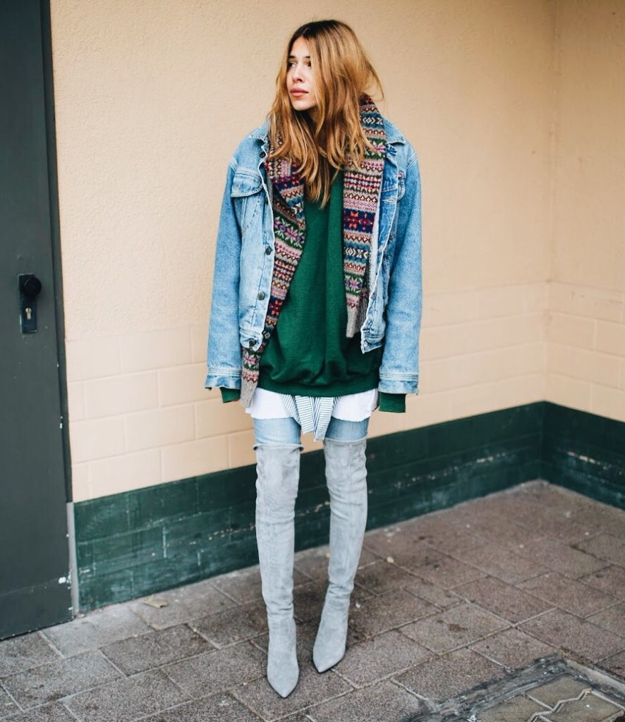 Wieso Overknee-Stiefel ein toller Garderobe-Basic sind und Kombinierungstipps (Teil 1)