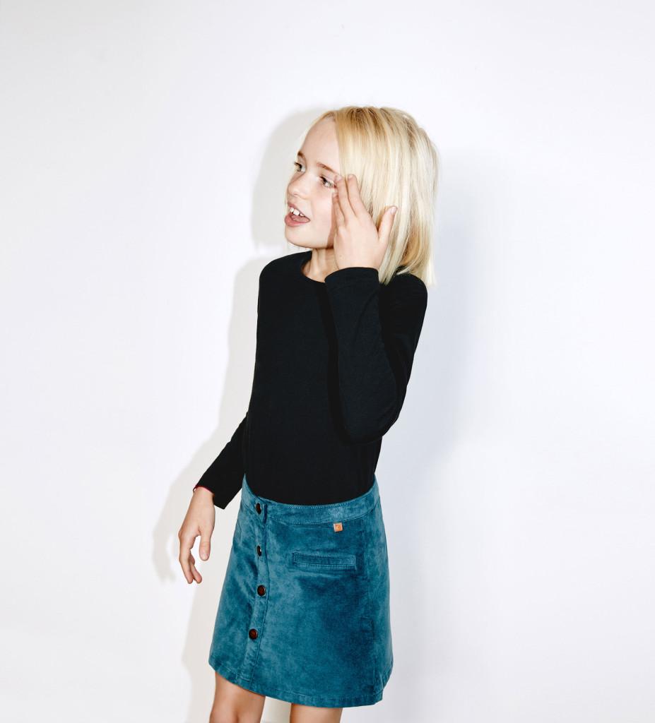 Jeans-Rock, Zara, 17 Euro, in vielen Größen verfügbar.