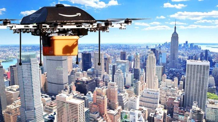 Amazon neue Liefer-Drohne - Prototyp - am 29. November 2015 vorgestellt.