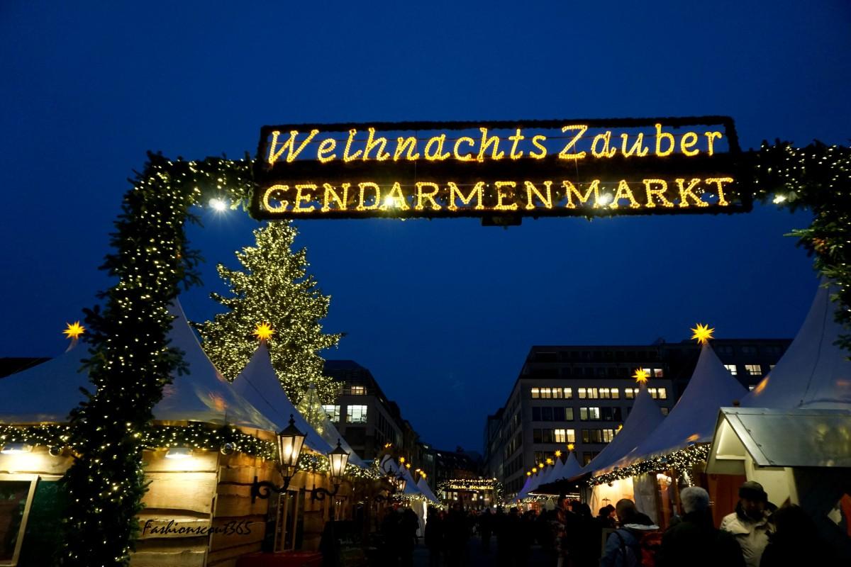 Туристу на заметку. Лучшие рождественские ярмарки в Германии в 2015 г.: Gendarmenmarkt в Берлине.