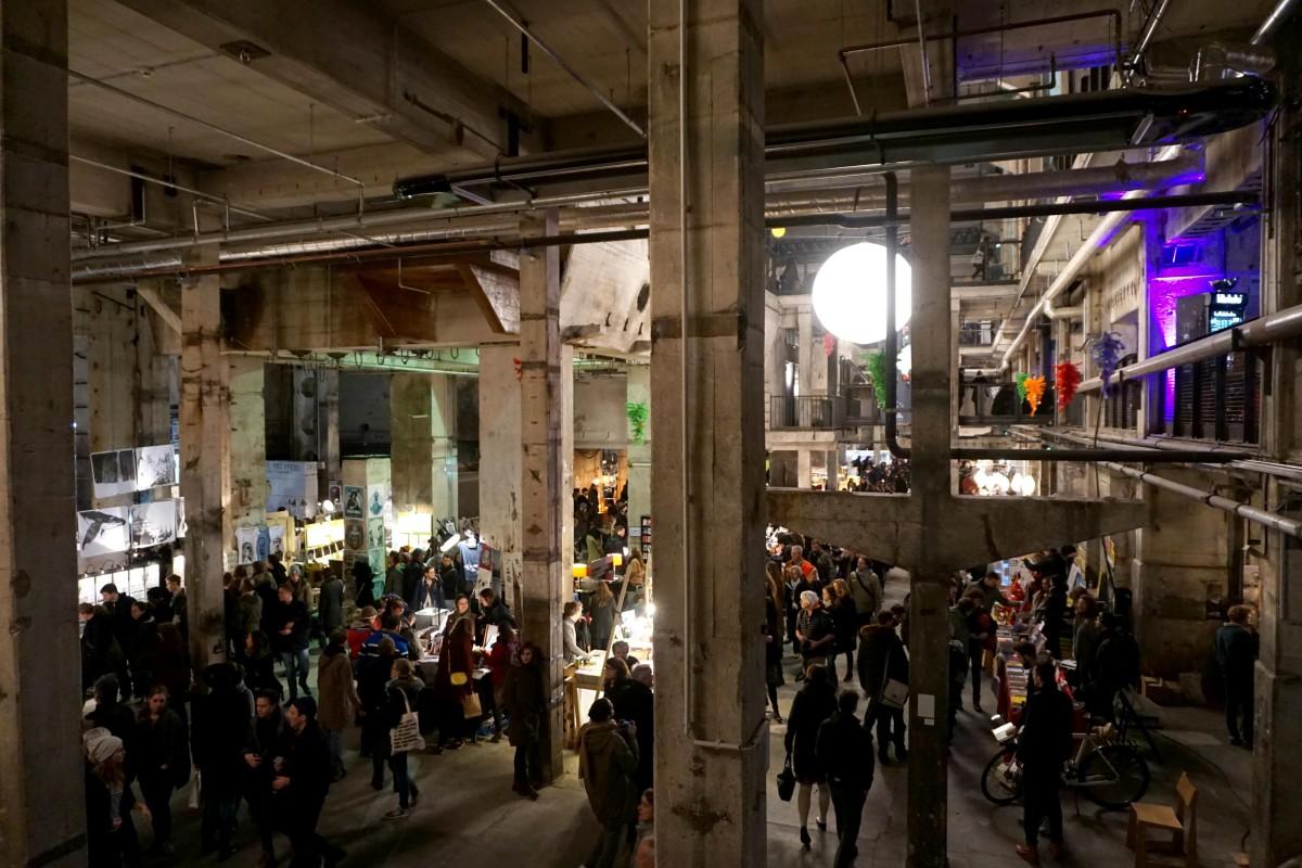 Kraftwerk Berlin Holy Shit Shopping in Berlin 2015.