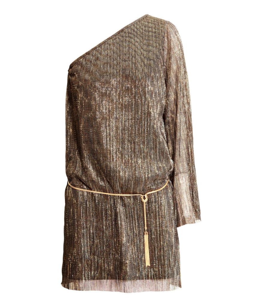 One-Shoulder-Kleid-in dem Boho-Chic Style für den perfekten Party-Look.