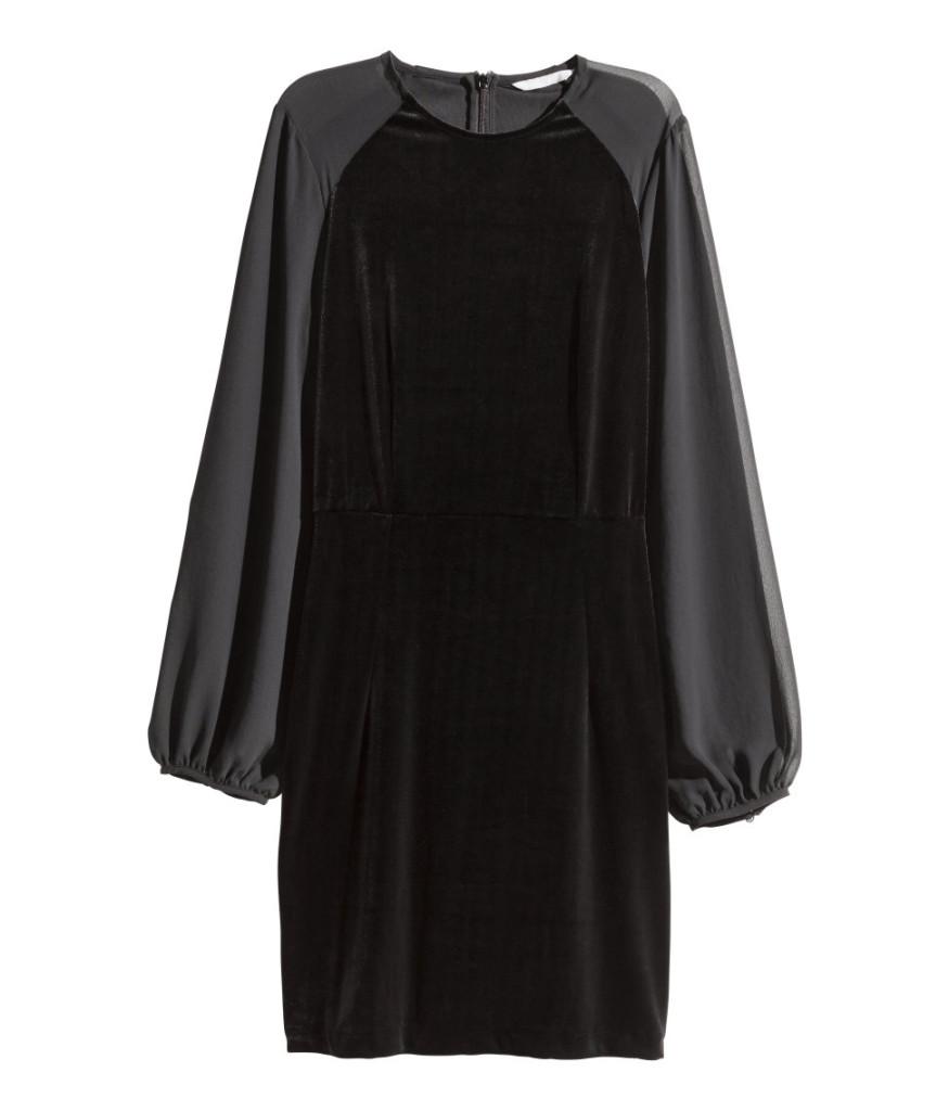 H&M-Kleid mit Ballon-Ärmeln für den tollen Sillvester-Party-Style