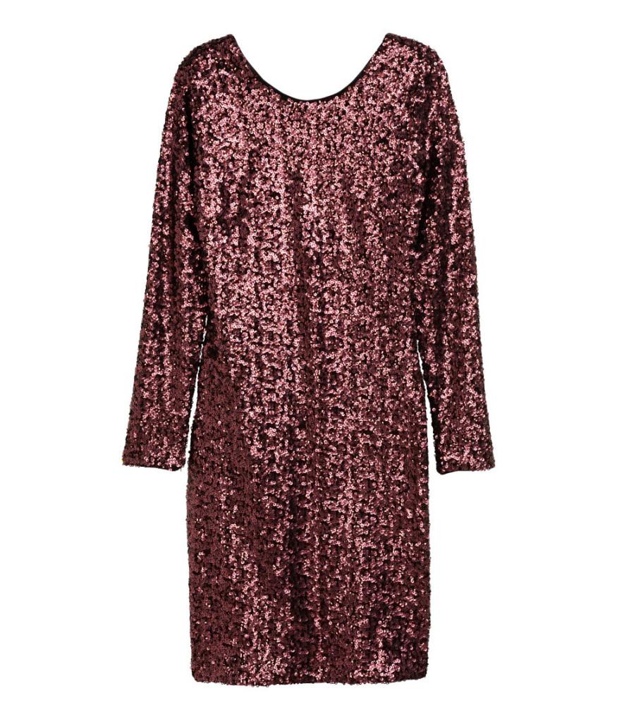Pailetten-Kleid für den tollen Silvester-Party-Look.