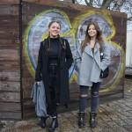 Уличная мода в Берлине: Блошиный рынок в парке у Берлинской стены
