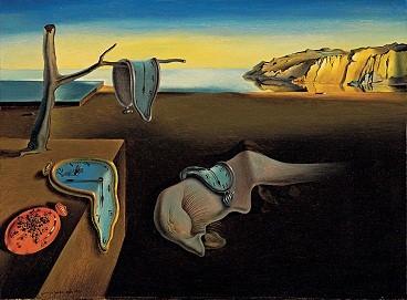 "Salvador Dali ""The persistence of memory""."