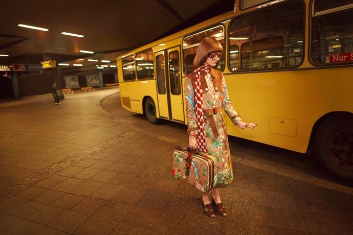Gucci loves Berlin! Photoshoot im Rahmen der SS16-Kollektion.