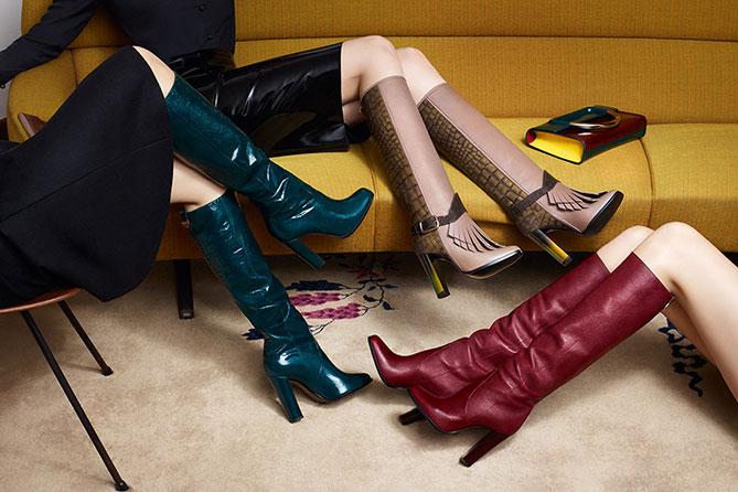 """Sale in dem Online-Store von Pollini und Studio Pollini auf FW15-Kollektion: trendige Taschen und Schuhe """"made in Italy"""" mit 50 %-Rabatt."""