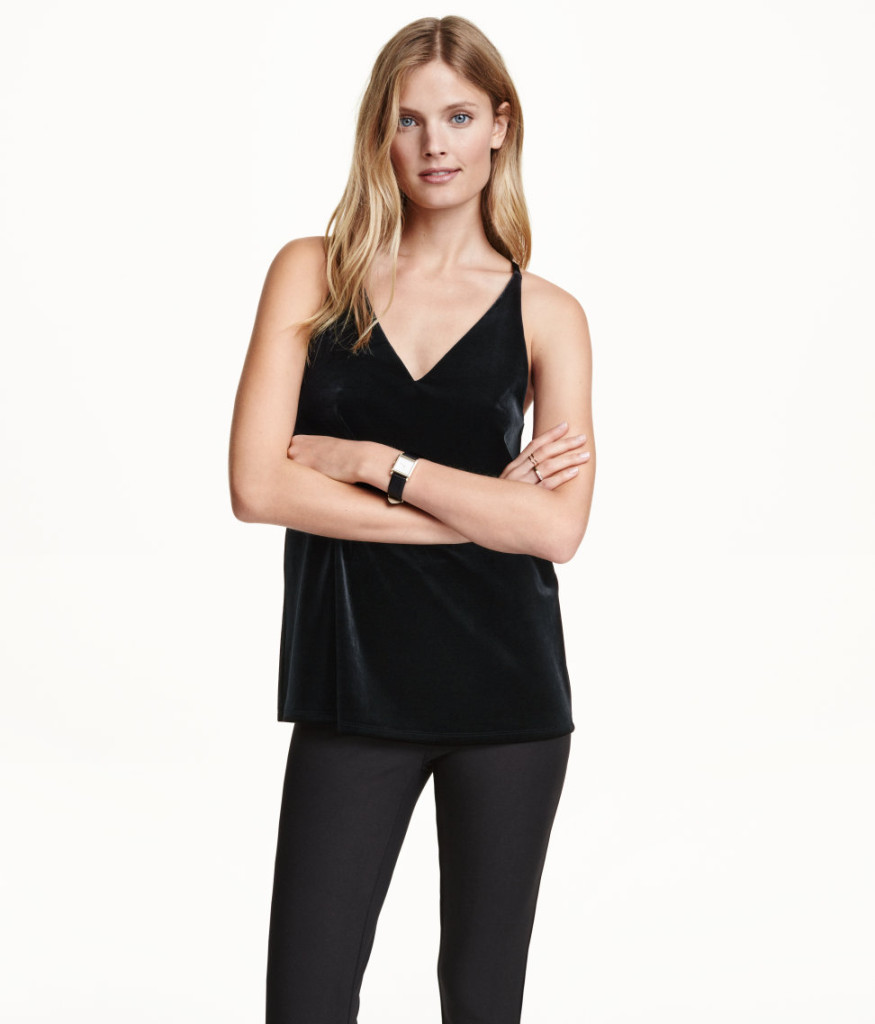 h&m-online-shop-velvet-top-beste-angebote-damenkleidung-neuware-sale