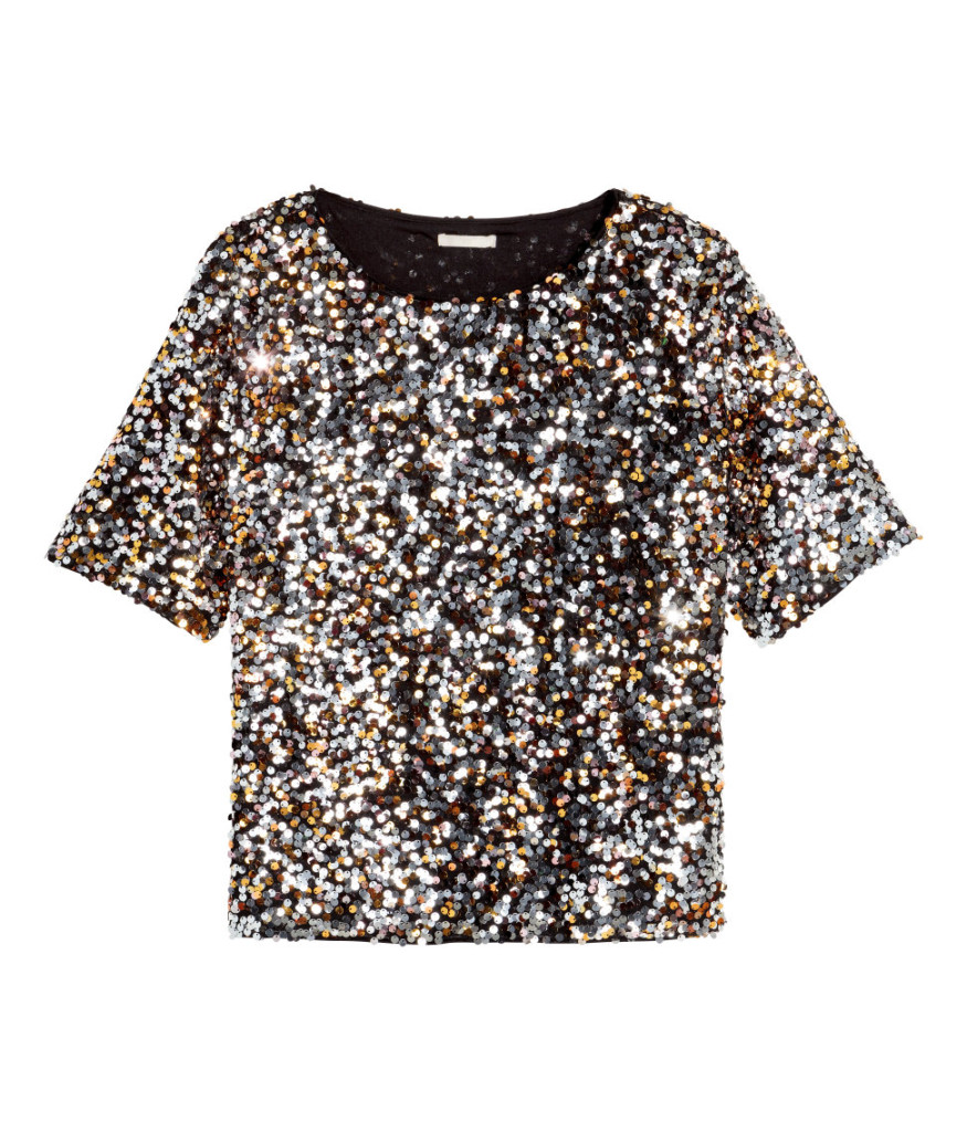 h&m-party-pailetten-top-gold_beste-angebote-damenkleidung-online-shops