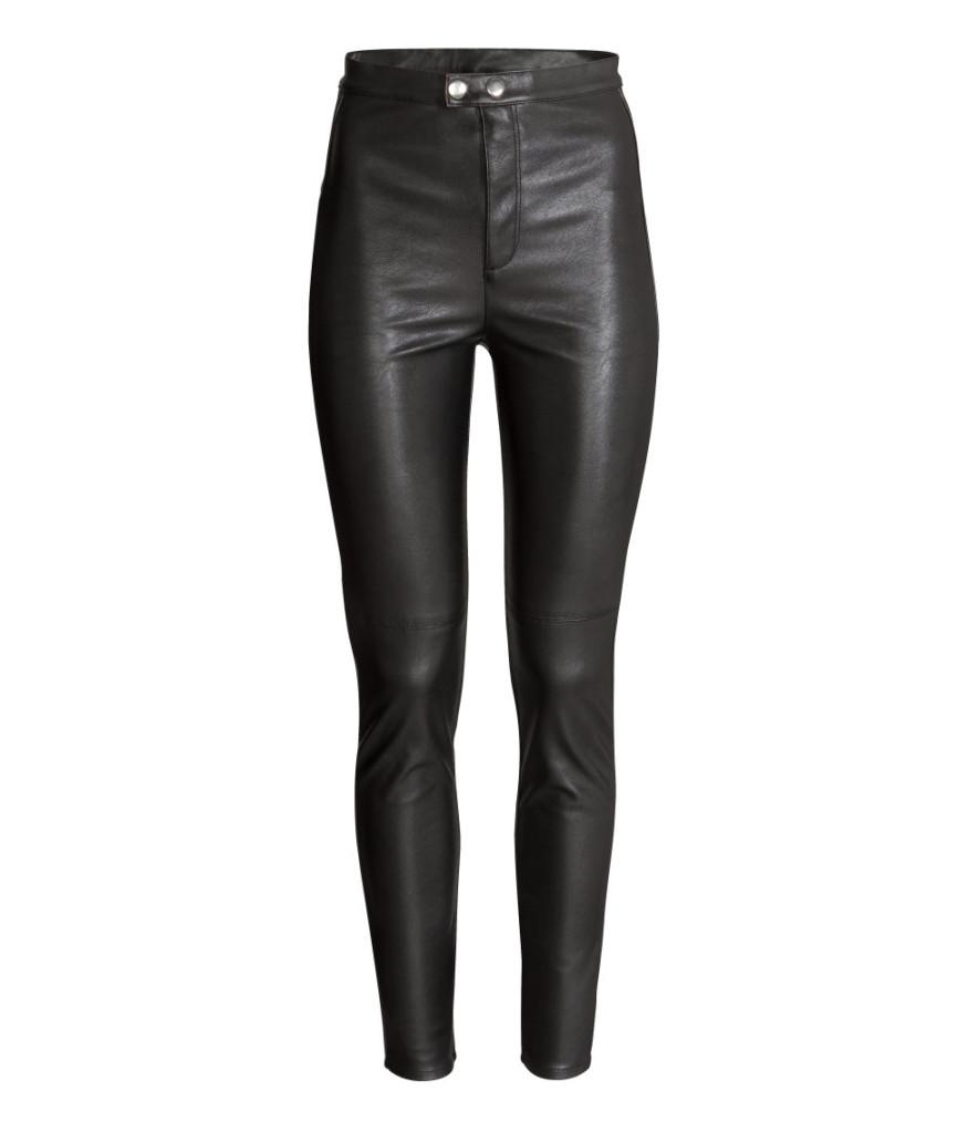 Preis-Knüller aus H&M-Sale: Lederhose. Modische Garderobe-Basics clever shoppen mit Tipps