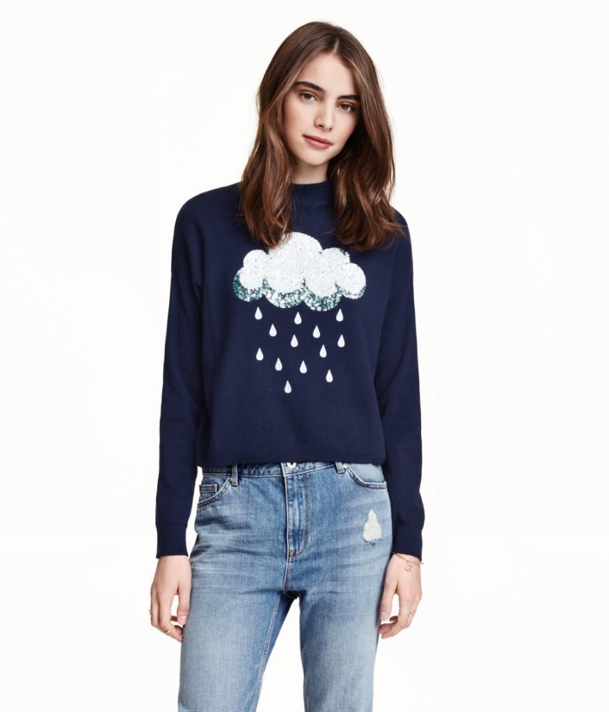 hm-sale-top-picks-pullover-mit-wolke-und-regentropfen-abbildung-young-fashion-preiswert-kaufen-tipps
