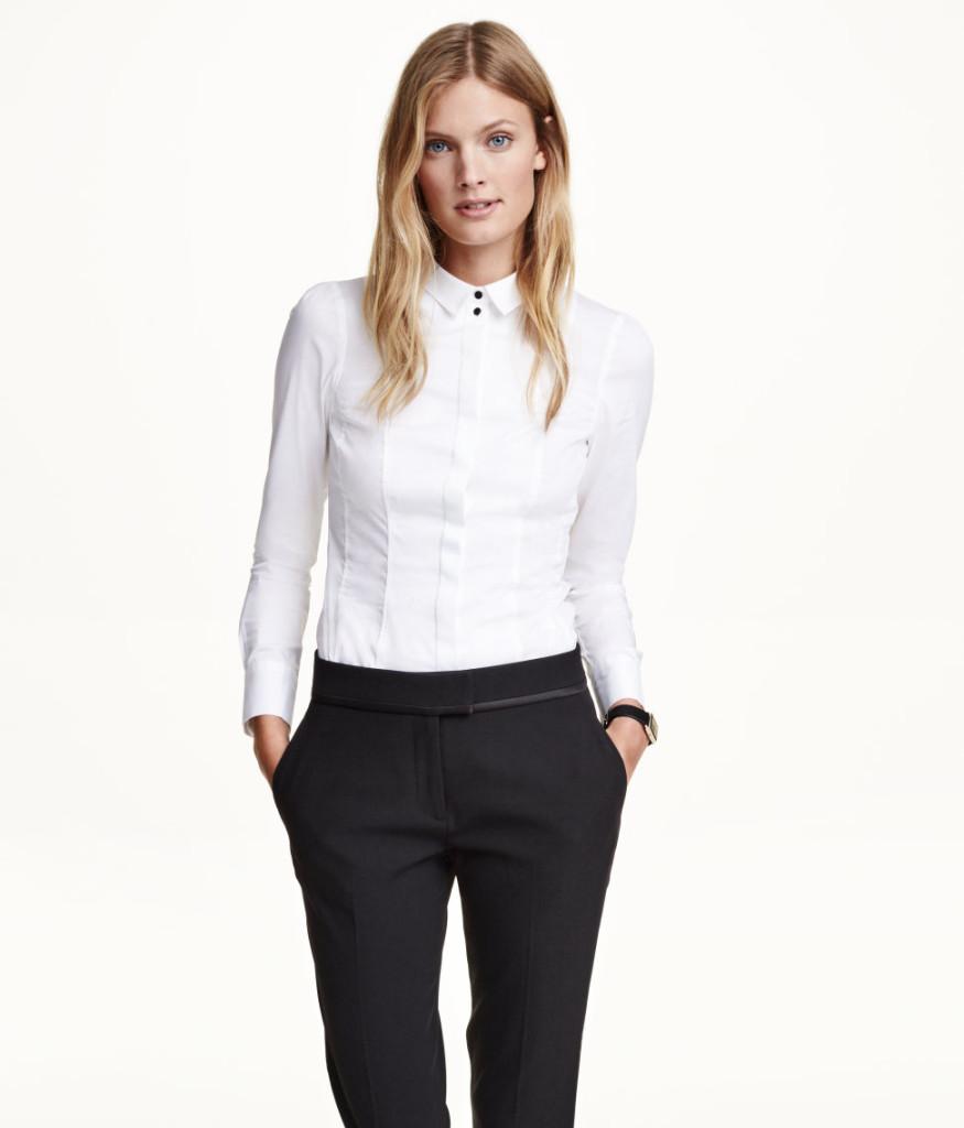 h&m-taillierte-bluse-premium-qualitaet-beste-schnaeppchen-damenkleidung-neuware-sale