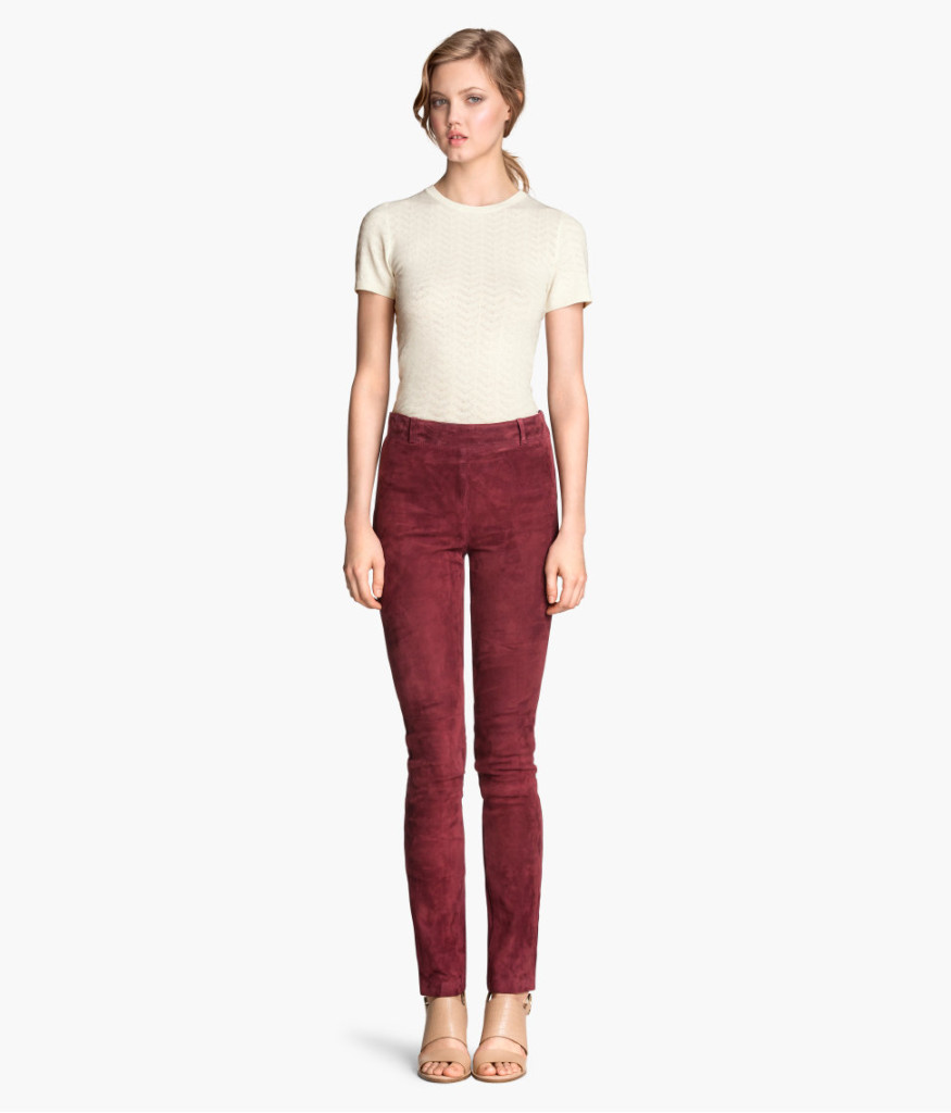 h&m-wildlederhose-weinrot-beste-top-picks-tipps-damenkleidung-online-shops